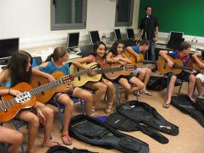 סדנת לימוד גיטרה