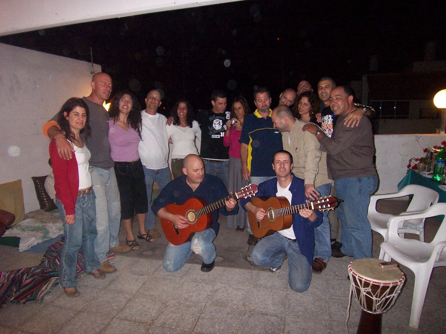 ערב נגינה בצמד גיטרות